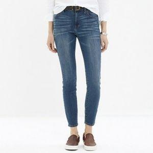 Madewell Women Jeans Atlantic High Riser Skinny 27